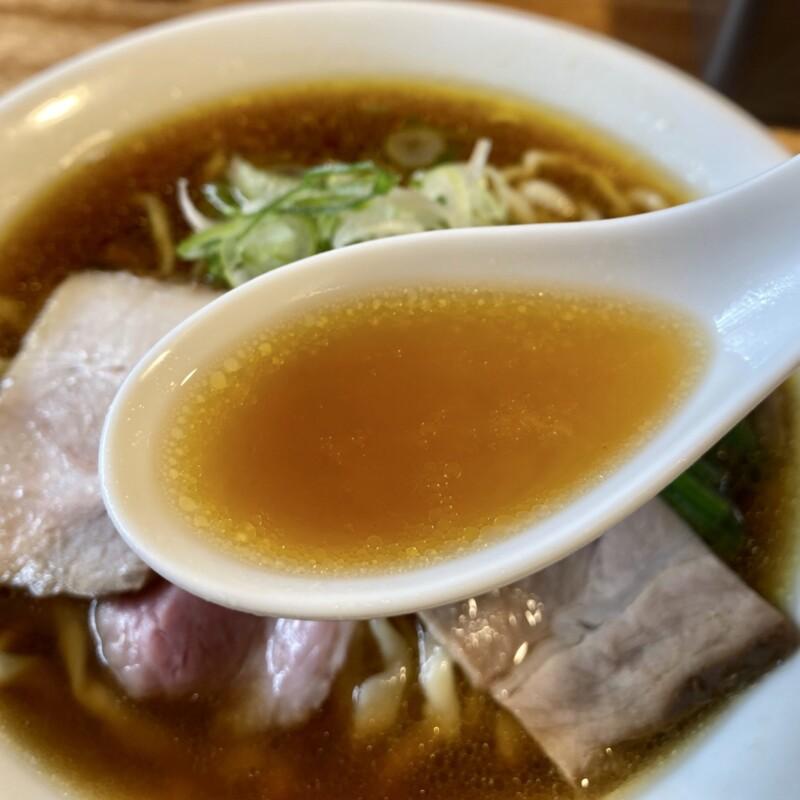 湯の台食堂 秋田県にかほ市象潟町横岡 中華そば 醤油 スープ