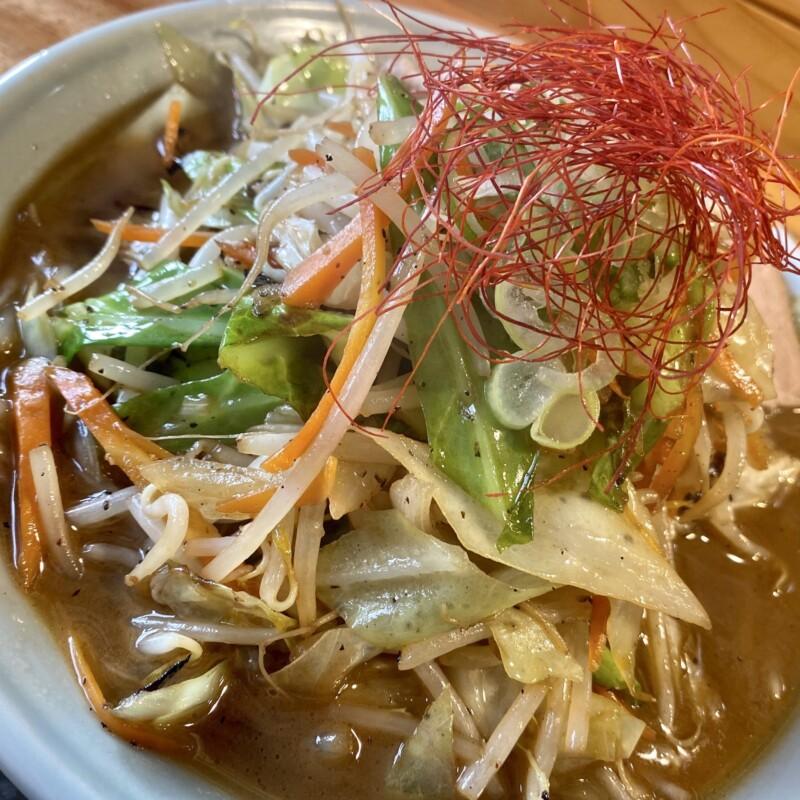 湯の台食堂 秋田県にかほ市象潟町横岡 タンメン 具
