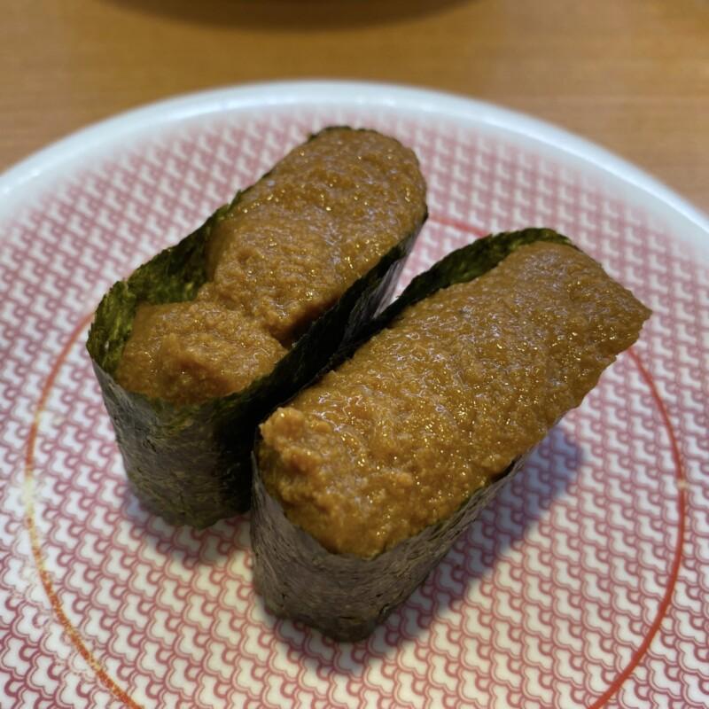 かっぱ寿司 横手店 秋田県横手市前郷 海老味噌のっけ軍艦-オマールえび味噌使用