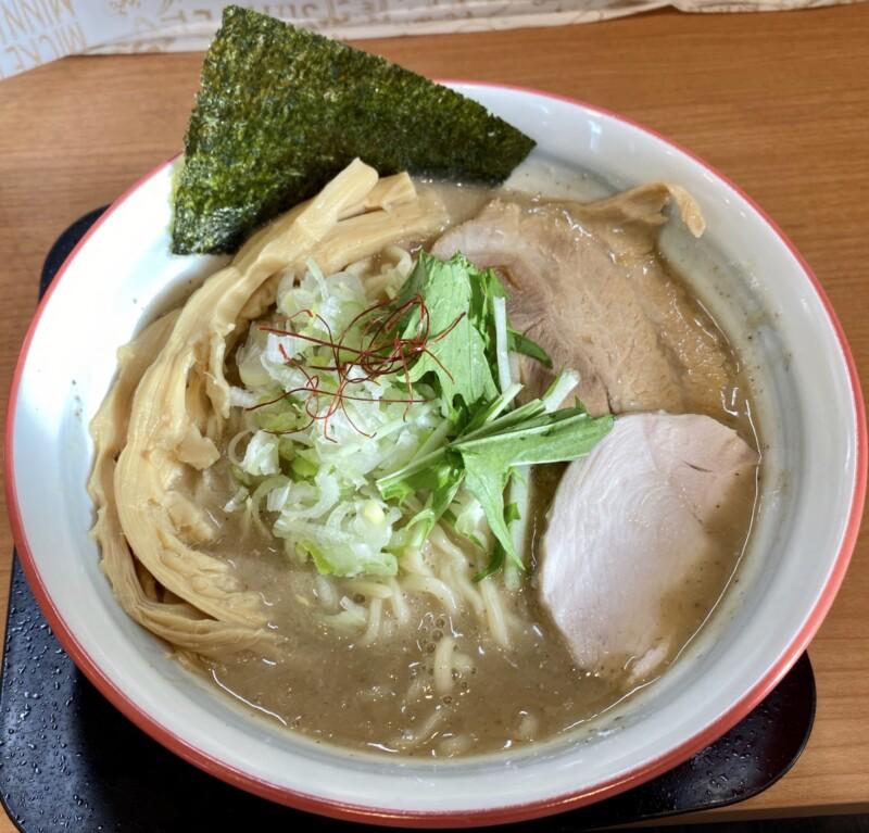 麺や陽風 はるかぜ 山形県山形市清住町 鶏豚魚介白湯 濃厚