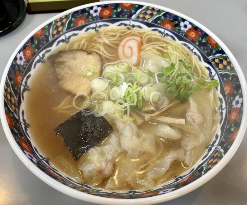 中華料理 平和軒 石川県金沢市尾山町 ラーメン ワンタン麺