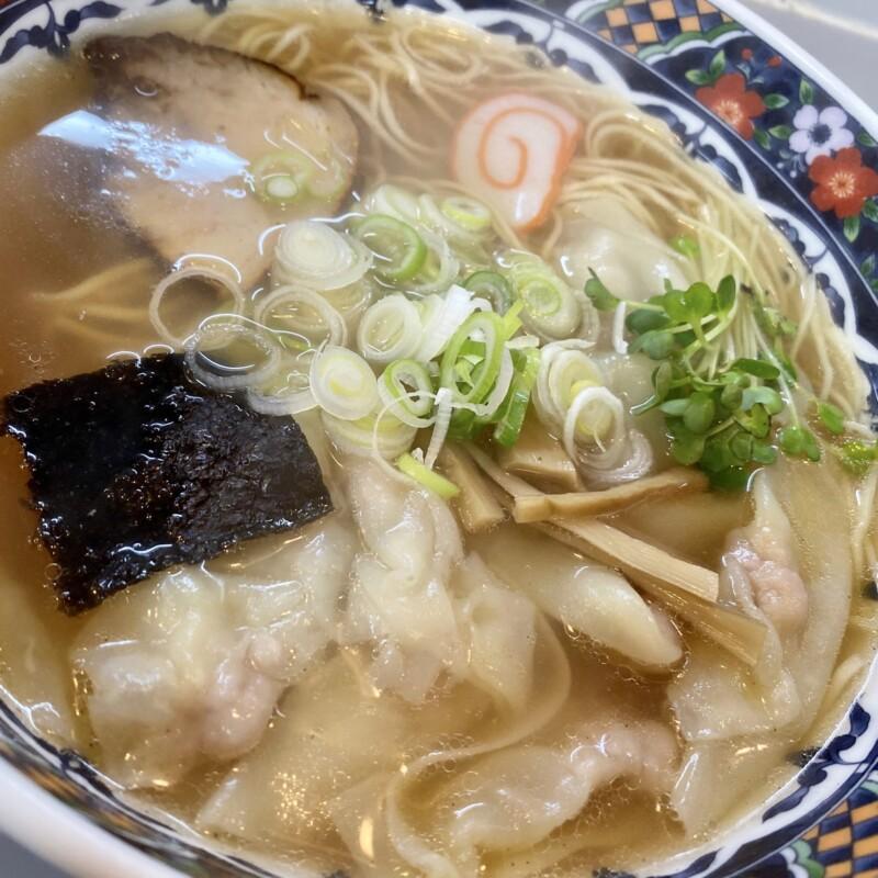 中華料理 平和軒 石川県金沢市尾山町 ラーメン ワンタン麺 具