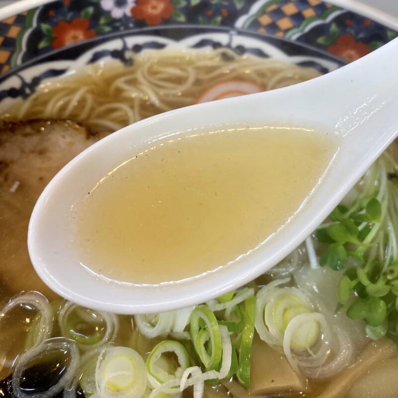中華料理 平和軒 石川県金沢市尾山町 ラーメン ワンタン麺 スープ
