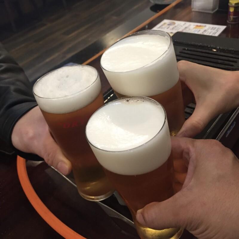 生ホルモンと生ビールの店 多勝 かつ丼 たかつ 秋田県秋田市新屋朝日町 乾杯