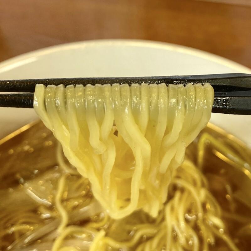 拉麺しな竹 しなちく 秋田県大仙市飯田町 炒葱湯麺 ねぎそば 麺