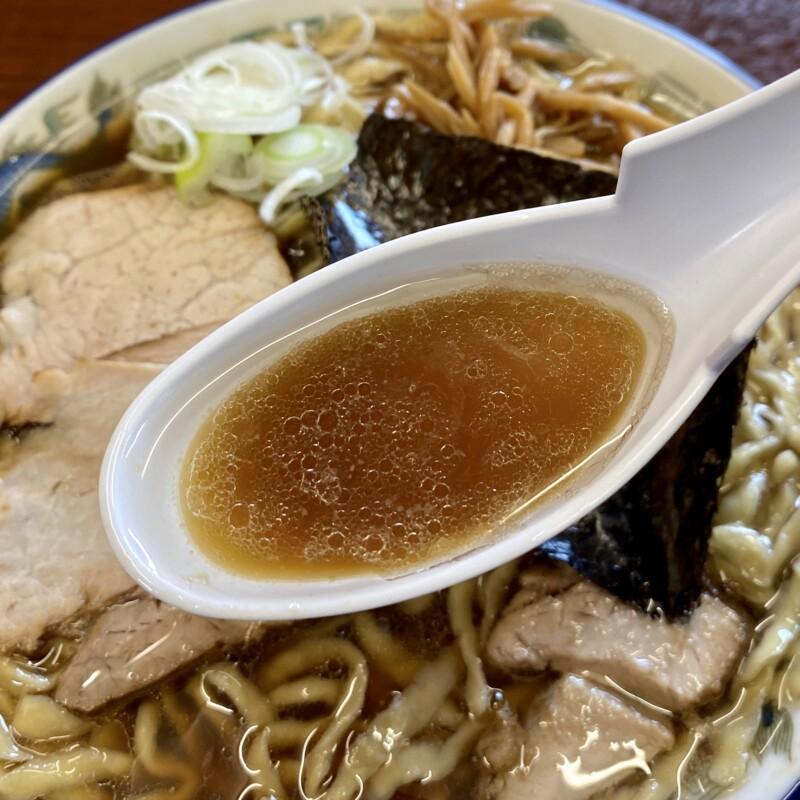 ケンちゃんラーメン 秋田店 秋田県秋田市飯島道東 中華そば 普通 スープ