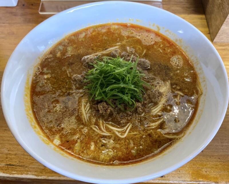 柳麺 多むら 能代本店 秋田県能代市花園町 担々麺