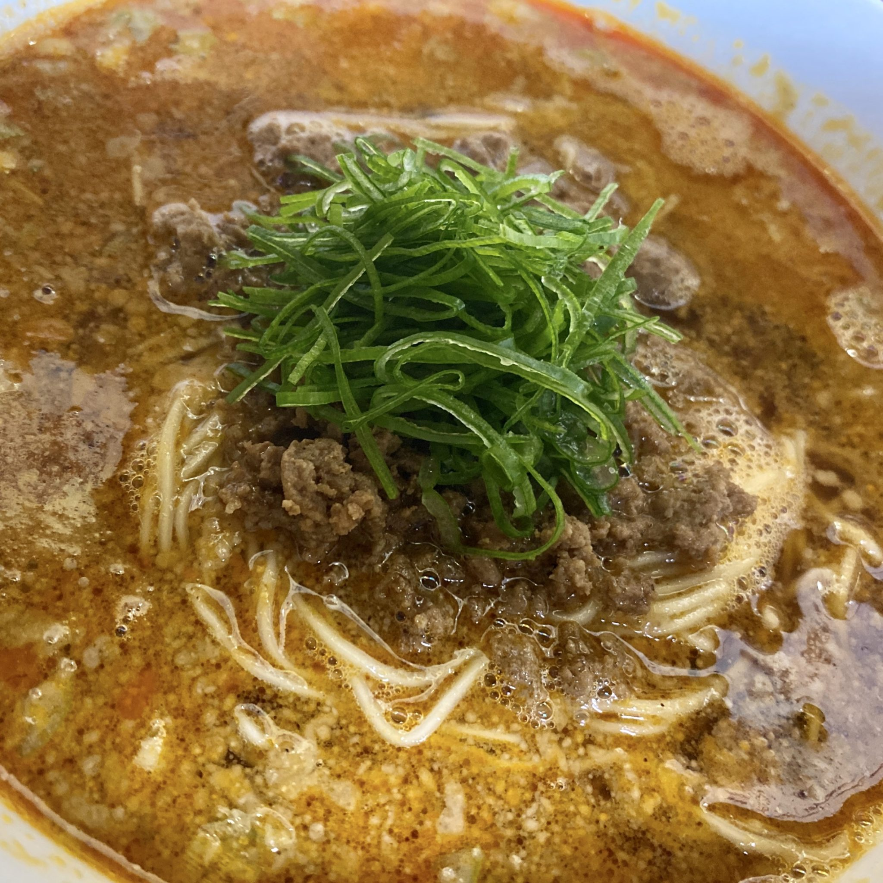 柳麺 多むら 能代本店 秋田県能代市花園町 担々麺 具