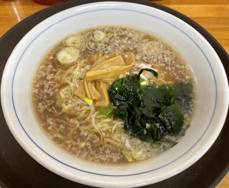 とんとんラーメン 秋田県にかほ市象潟町 しょうゆラーメン 醤油ラーメン