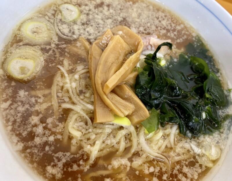 とんとんラーメン 秋田県にかほ市象潟町 しょうゆラーメン 醤油ラーメン 具