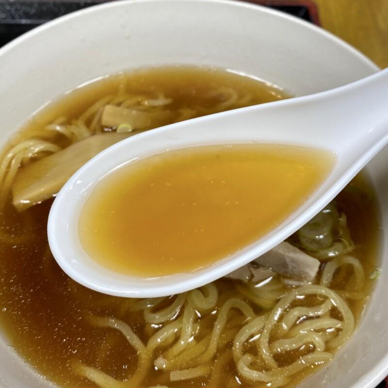 食堂・弁当 茂利多屋 もりたや 山形県天童市中里 ミニラーメン支那そば スープ