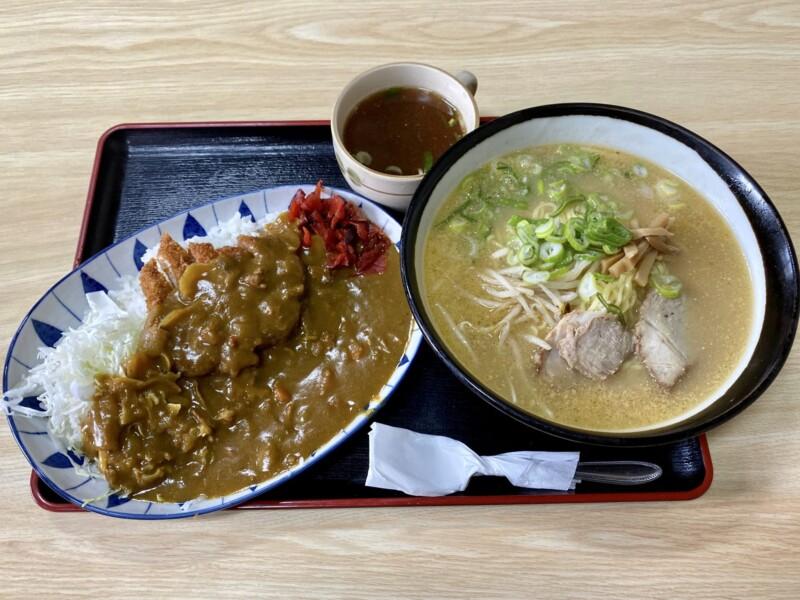 お食事処 えのき 秋田県秋田市寺内 味噌ラーメン カツカレー