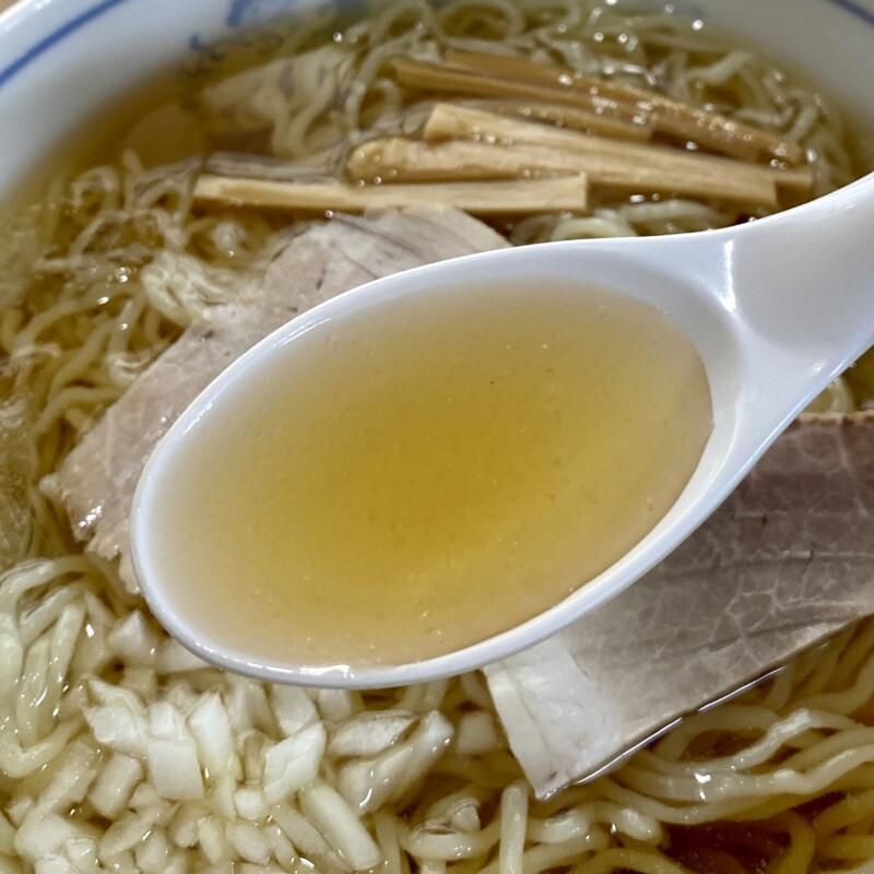 食堂いしやま 福島県河沼郡会津坂下町 会津冷やしラーメン 元祖 冷しラーメン スープ
