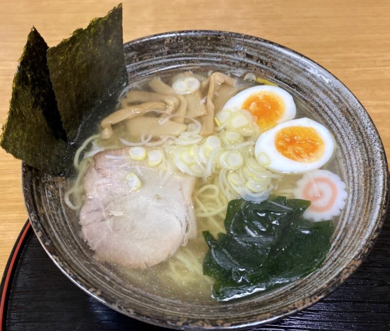 かねだ食堂 金田食堂 秋田県能代市元町 塩魚汁 しょっつるラーメン