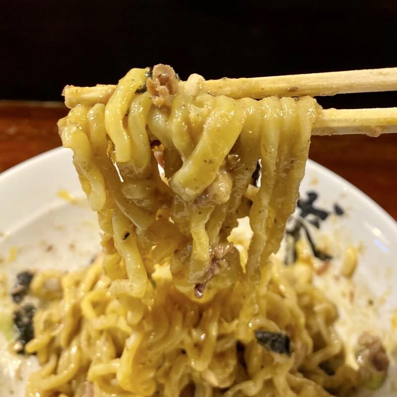 一球 秋田県秋田市手形 海老の油そば 志賀麺業