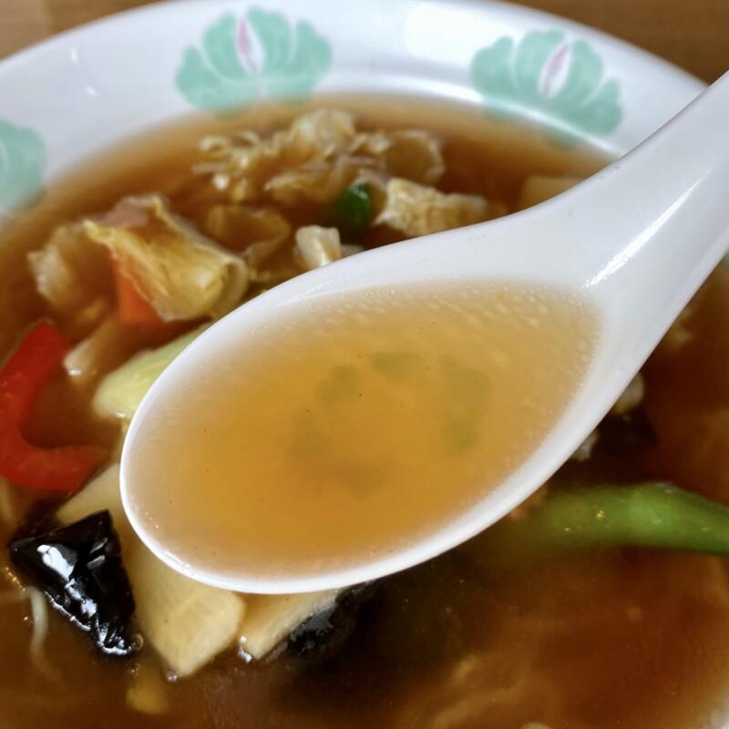 中華麺飯店 広東鍋家 かんとんこうや 秋田県由利本荘市大鍬町 広東麺 スープ