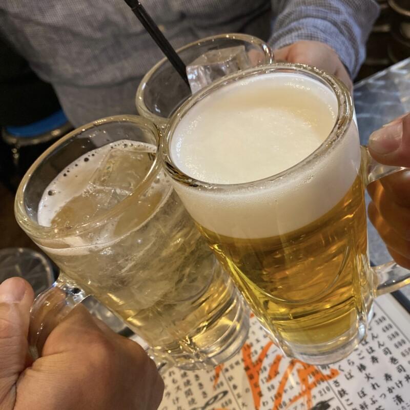 地魚屋台 浜ちゃん 上野店 東京都台東区上野 生ビール 乾杯