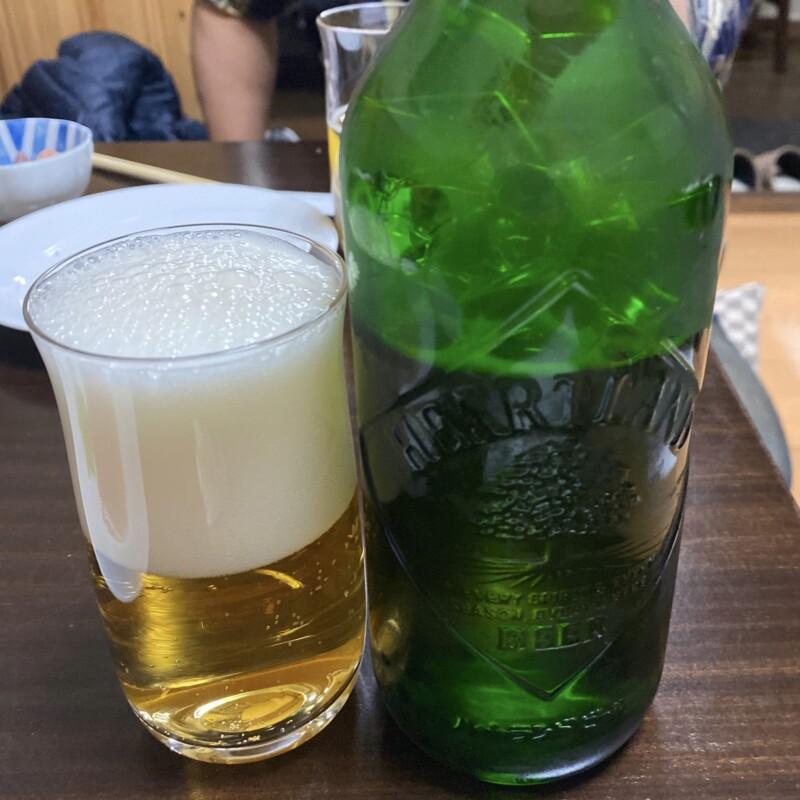 ビストロ桜舞 おうぶ 秋田県湯沢市柳町 ビール キリンハートランド
