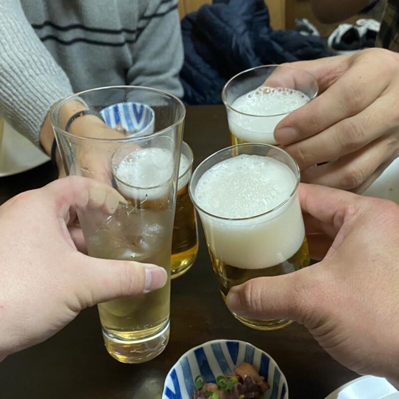 ビストロ桜舞 おうぶ 秋田県湯沢市柳町 ビール 乾杯