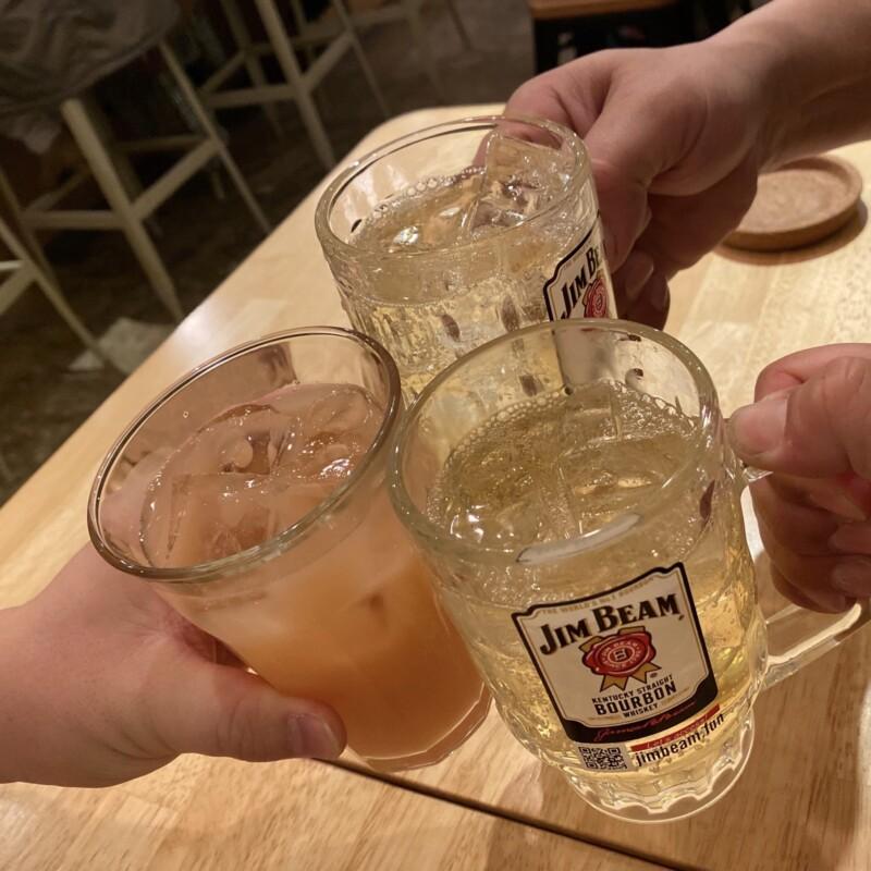 TRA CAFE STAND トラ カフェスタンド TRA-YUZAWA 秋田県湯沢市表町 ハイボール 乾杯