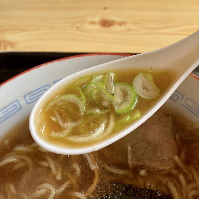 ハルピン飯店 秋田県にかほ市平沢 中華そば スープ