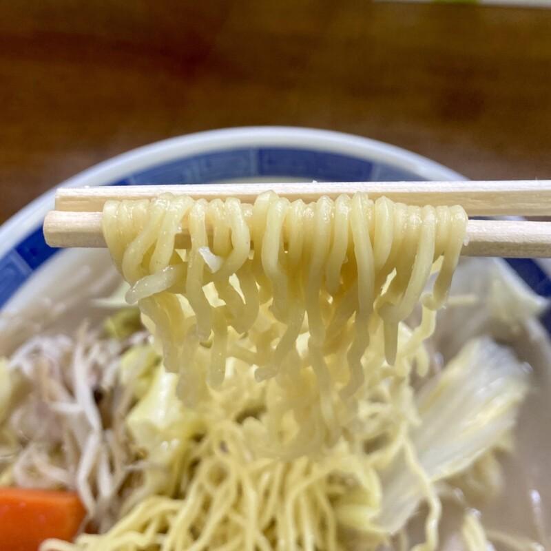 お食事処 よってけれ 食堂 秋田県能代市落合 タンメン 麺