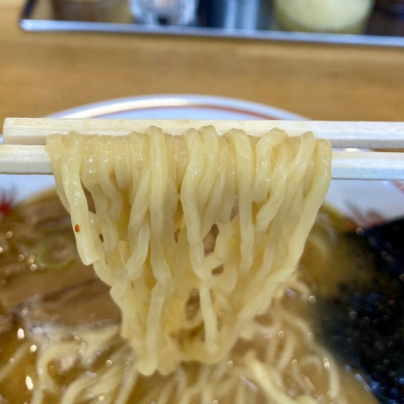 吾作ラーメン 能代本店 秋田県能代市落合 みそ味 味噌ラーメン 自社製麺