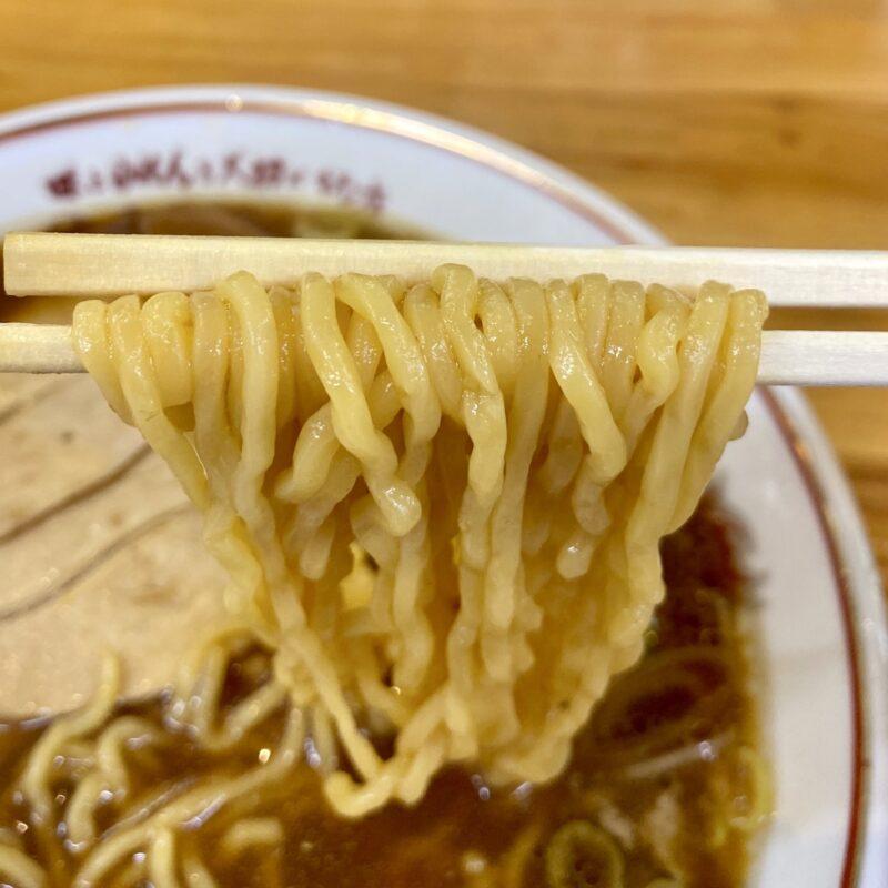 吾作ラーメン 東能代店 秋田県能代市扇田 醤油味 醤油ラーメン 自社製麺