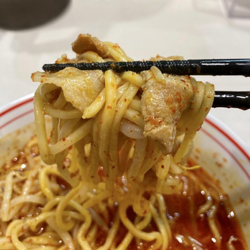 蒙古タンメン中本 御徒町店 東京都台東区上野 北海ラーメン 辛9 麺
