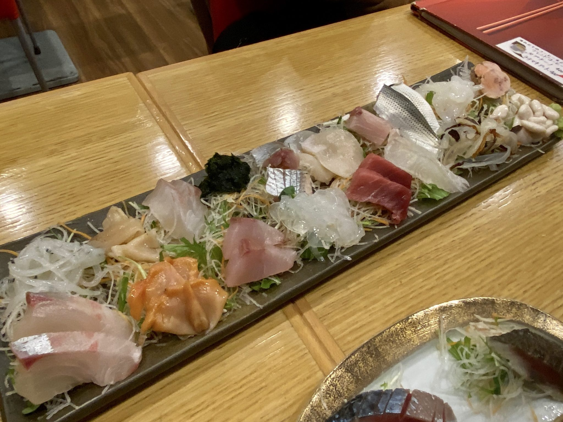 新海 本店 神奈川県横浜市大船 刺身盛り合わせ