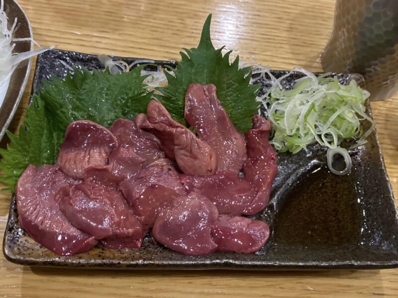 新海 本店 神奈川県横浜市大船 炙りレバー刺身