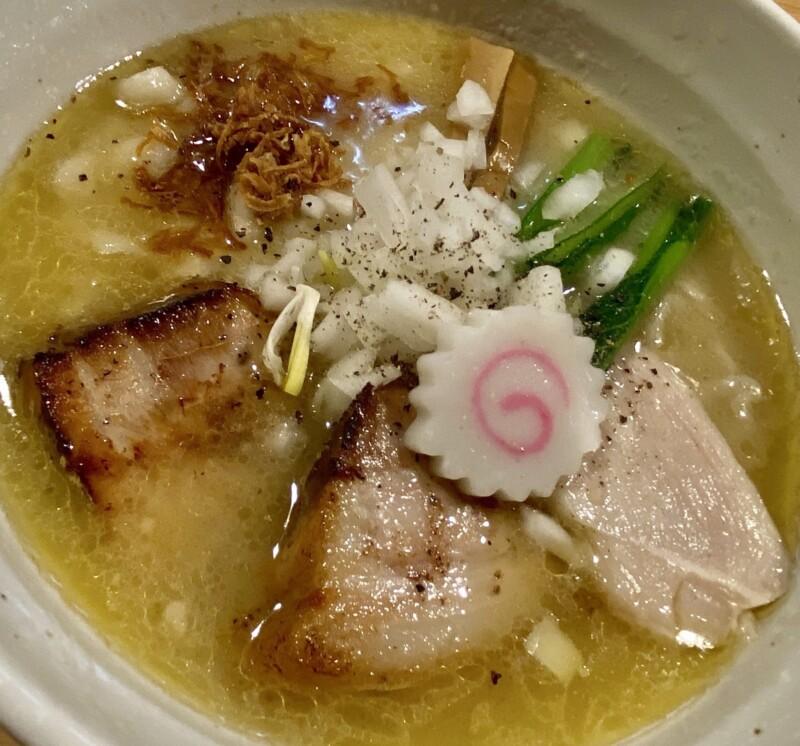 自家製手打ち麺 粋や いなせや 千葉県千葉市中央区春日 西千葉 鶏白湯らぁめん 鶏白湯ラーメン 具