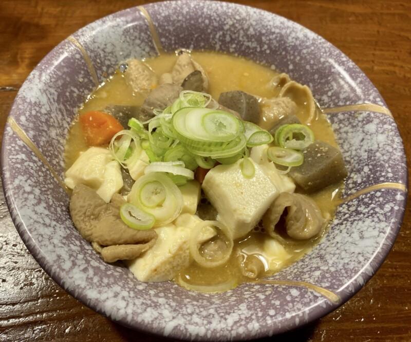 おでん処 じゅんちゃん かどや 新潟県新潟市中央区弁天 ホルモン もつ煮込み