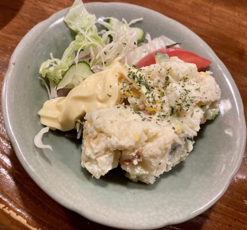 おでん処 じゅんちゃん かどや 新潟県新潟市中央区弁天 ポテトサラダ