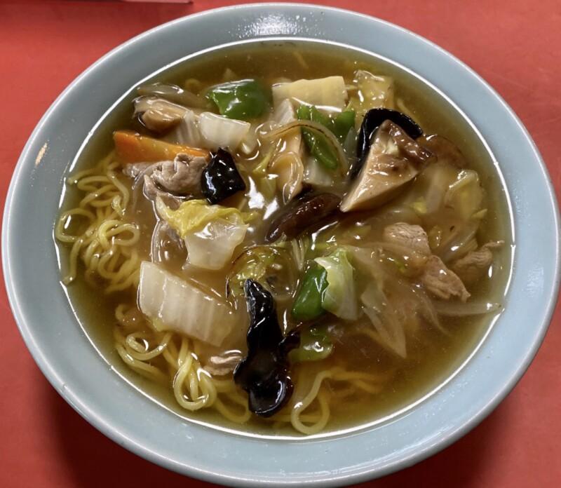 中華飯店 千草 秋田県横手市中央町 広東麺 うまにそば