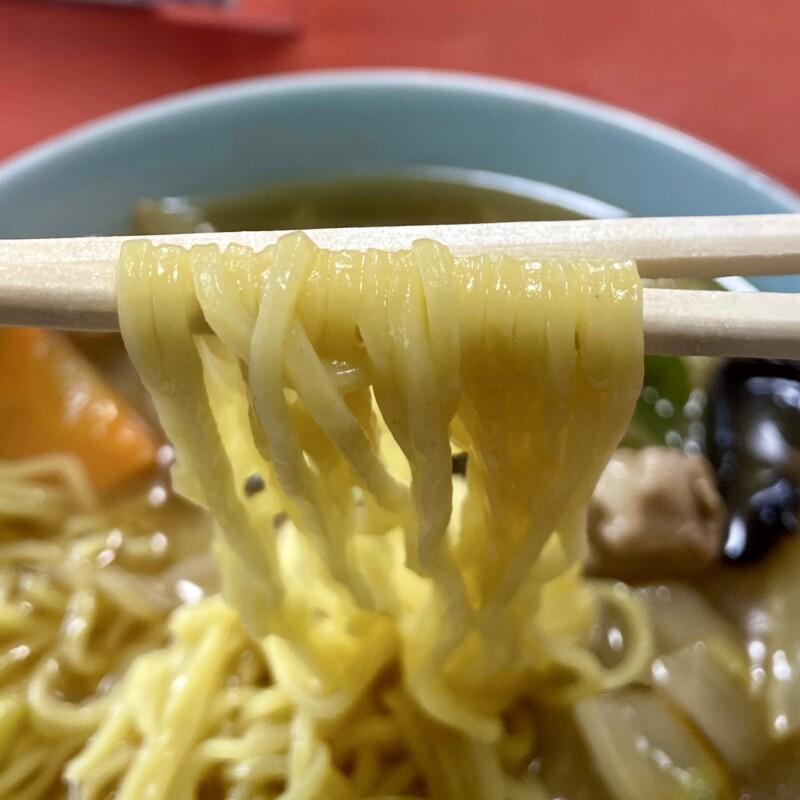 中華飯店 千草 秋田県横手市中央町 広東麺 うまにそば 麺