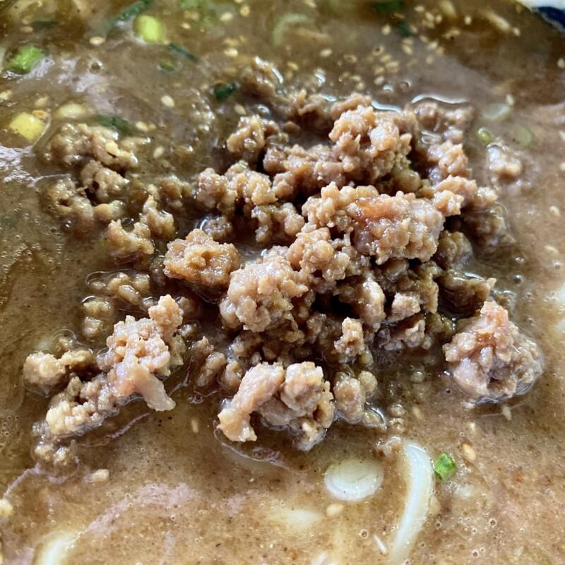 らーめん萬亀 ばんき 秋田県秋田市山王新町 坦々麺 濃厚塩 肉味噌 挽き肉