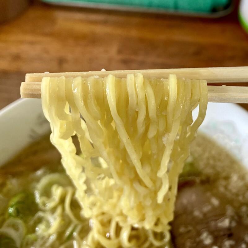 ラーメン水木 秋田県能代市落合 こってり塩とんこつラーメン 豚骨ラーメン 麺