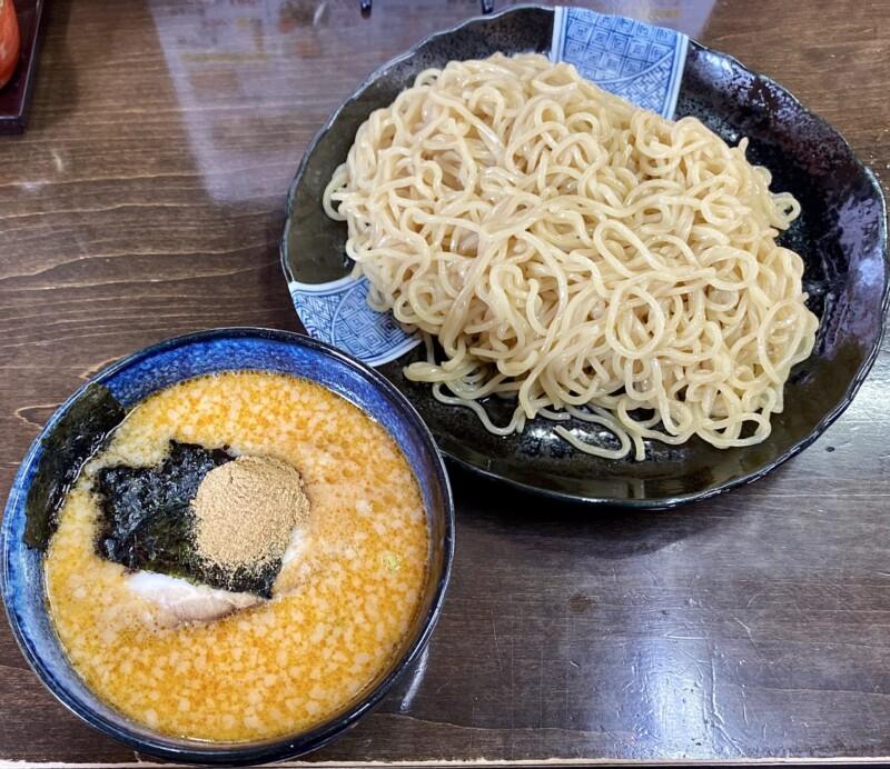 麺四郎分店 麺職人 暖家 ぬくもりや 秋田県能代市落合 濃厚魚介味噌つけめん ちょい辛