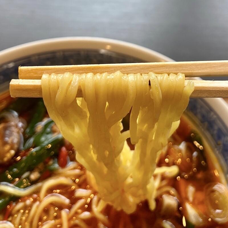 居食屋 七菜 いしょくや なな 秋田県能代市畠町 台湾ラーメン 辛さ5段アップ 5辛 麺