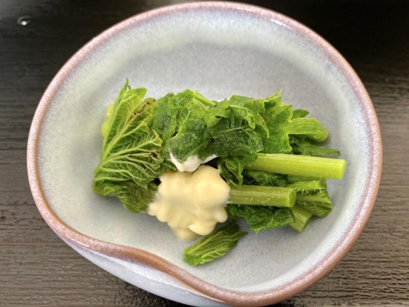もりもり食堂 食楽々 くらら 秋田県由利本荘市小栗山 山菜