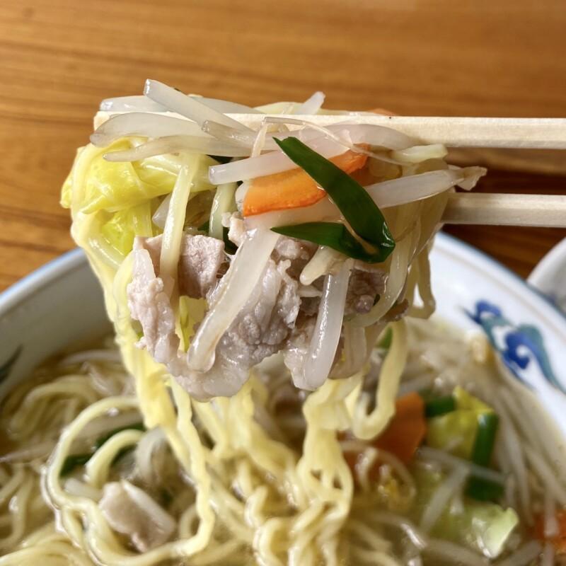 お食事処 こうや グランド食堂 秋田県由利本荘市矢島町 タンメン 麺