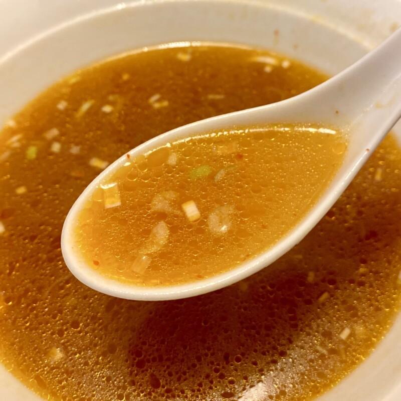 中国料理 四川亭 秋田県由利本荘市桜小路 四川湯麺 四川亭特製辛子入り汁そば スープ