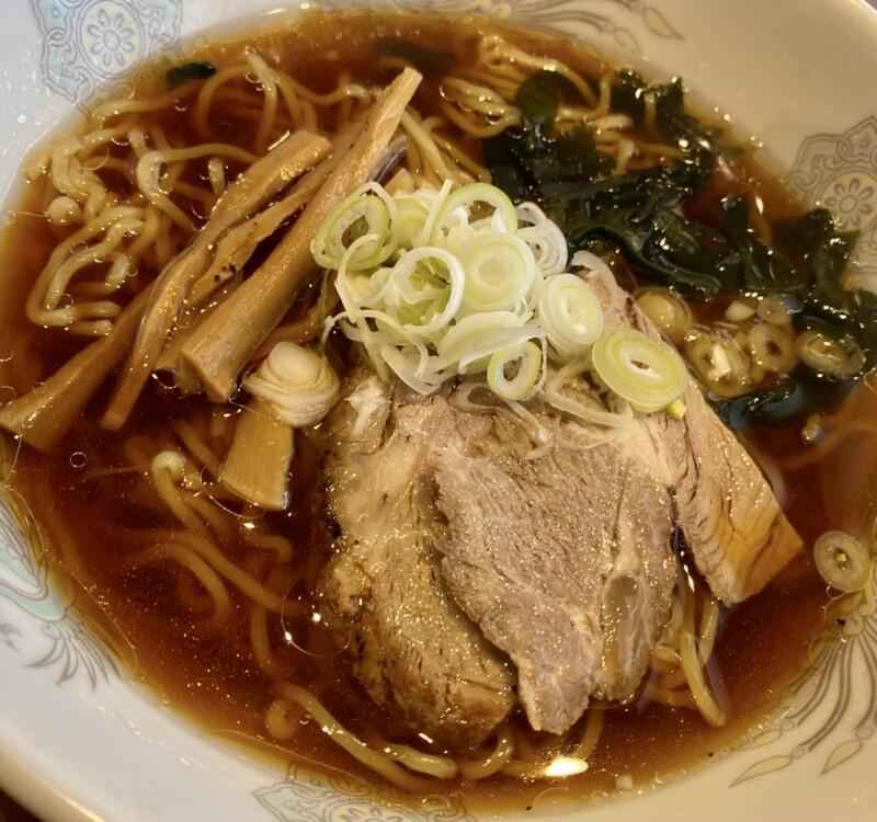 焼肉とラーメン 大昌園 バイパス店 秋田県能代市 ラーメンランチ 醤油ラーメン 具