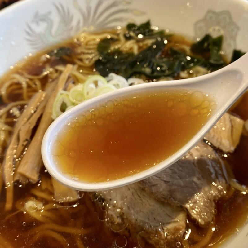 焼肉とラーメン 大昌園 バイパス店 秋田県能代市 ラーメンランチ 醤油ラーメン スープ