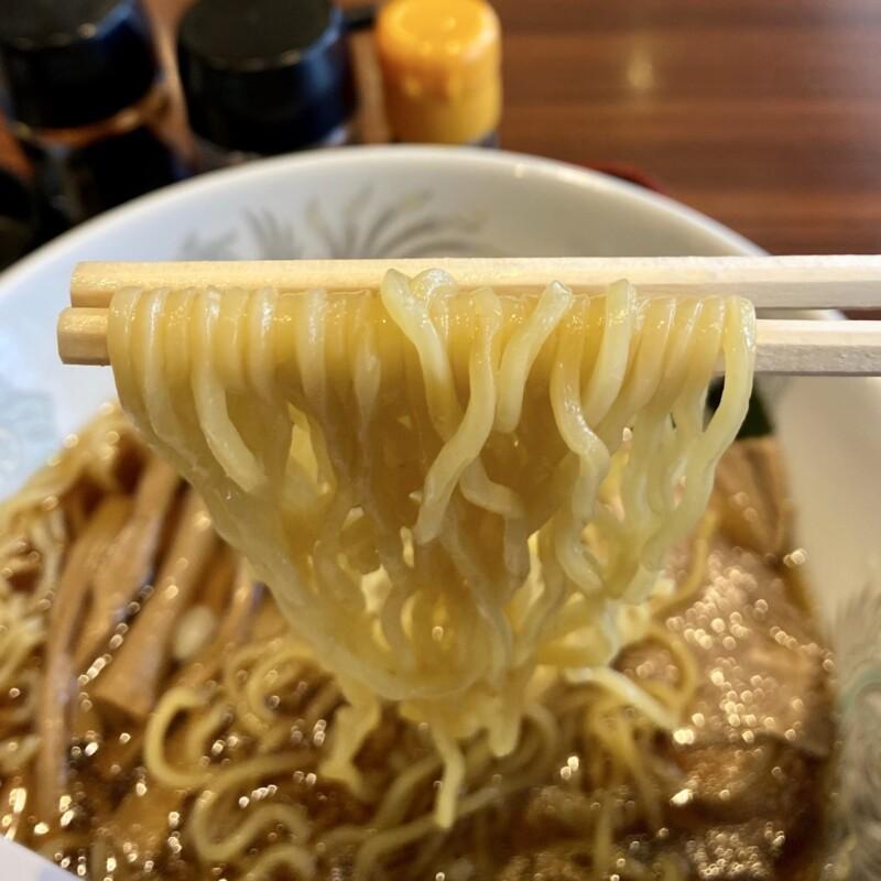 焼肉とラーメン 大昌園 バイパス店 秋田県能代市 ラーメンランチ 醤油ラーメン 麺