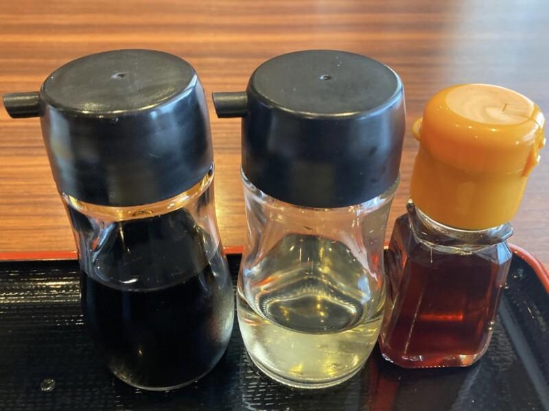 焼肉とラーメン 大昌園 バイパス店 秋田県能代市 ラーメンランチ 醤油ラーメン 味変 調味料