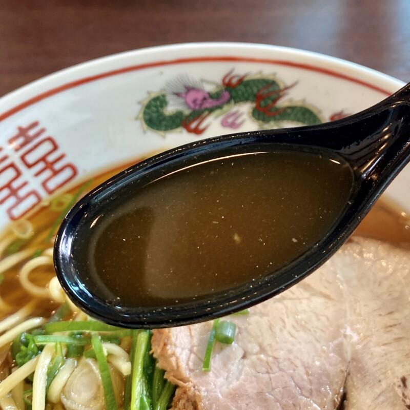 中華そば にぼし屋 秋田県秋田市御野場 醤油ラーメン 中華そば スープ