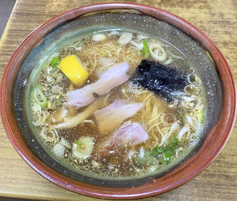 十八番 秋田県能代市追分町 醤油 並 醤油ラーメン