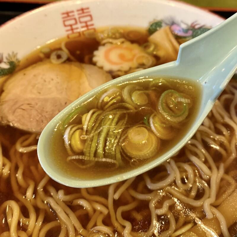 宝むらん 秋田県能代市柳町 ラーメン 醤油ラーメン スープ ネギ